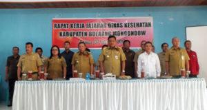 Gubernur Sulut saat Hadir di Raker Dinkes Bolmong