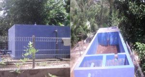 Kondisi Bak Penampungan Air Bersih Desa Paku
