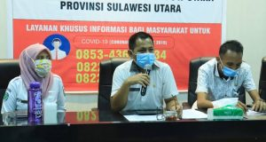 dr. Jusnan C. Mokoginta, MARS, Kepala Dinas Kesehatan Kabupaten Bolaang Mongondow Utara