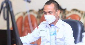 Kepala Bidang Pelayanan Kesehatan dan Farmalkes, Sofian Mokoginta.