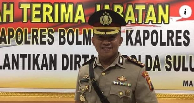Kapolres Bolmut AKBP Wahyu Purdiawarso, SH, SIK
