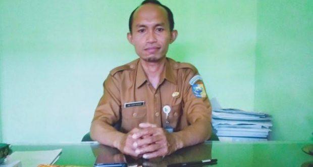 Kepala Sekolah SMP N 1 Kaidipang, Abdul Munif Buhang, S.Pd, M.Si